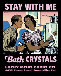 Lucky Mojo Stay With Me Bath Crystals