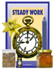 Lucky Mojo Curio Co.: Steady Work Honey Jar