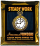 Lucky Mojo Curio Co.: Steady Work Incense Powder