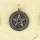 Sterling-Silver-Celtic-Flat-Back-Weave-Pentacle-at-Lucky-Mojo-Curio-Company