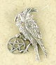 Sterling-Silver-Pentacle-of-the-Raven-Amulet-at-Lucky-Mojo-Curio-Company