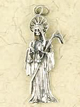 Sterling-Silver-Santisima-Muerte-Holy-Death-Amulet-at-Lucky-Mojo-Curio-Company