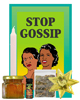 Lucky Mojo Curio Co.: Stop Gossip Honey Jar