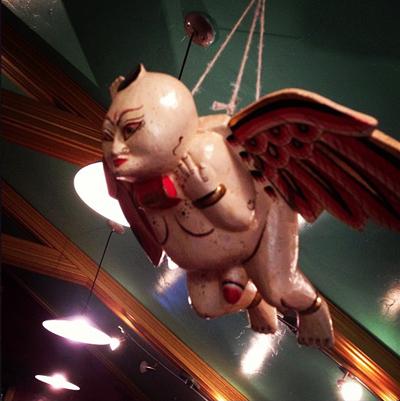 Flying-Naked-Hailing--Fairy-at-the-Lucky-Mojo-Curio-Company