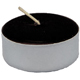 Tea-Light-Candle-Black-unscented-Product-Detail-Button-at-the-Lucky-Mojo-Curio-Company-in-Forestville-California