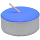Tea-Light-Candle-Blue-Unscented-Product-Detail-Button-at-the-Lucky-Mojo-Curio-Company-in-Forestville-California
