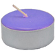 Tea-Light-Candle-Purple-Unscented-Product-Detail-Button-at-the-Lucky-Mojo-Curio-Company-in-Forestville-California