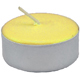 Tea-Light-Candle-Yellow-Unscented-Product-Detail-Button-at-the-Lucky-Mojo-Curio-Company-in-Forestville-California