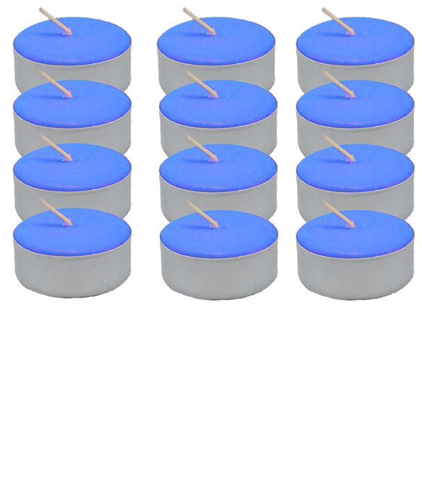 Tea-Light-Candle-Dozen-Blue-Unscented-at-the-Lucky-Mojo-Curio-Company-in-Forestville-California