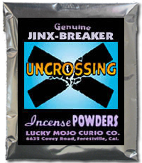 Lucky Mojo Curio Co.: Uncrossing Incense Powder