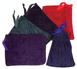 Velvet Pouch Single-Drawstring Bag for Tarot Cards