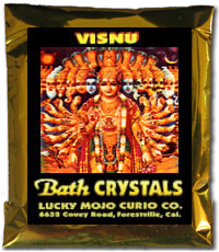 Lucky Mojo Curio Co.: Vishnu (Lord Visnu, Bisnu) Bath Crystals