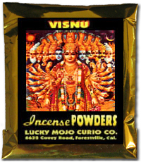 Lucky Mojo Curio Co.: Visnu (Lord Vishnu, Bisnu) Incense Powders