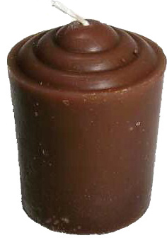 Votive-Light-Candle-Brown-at-the-Lucky-Mojo-Curio-Company-in-Forestville-California