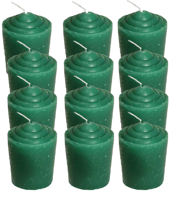 Votive-Light-Candle-Dozen-Green-at-the-Lucky-Mojo-Curio-Company-in-Forestville-California