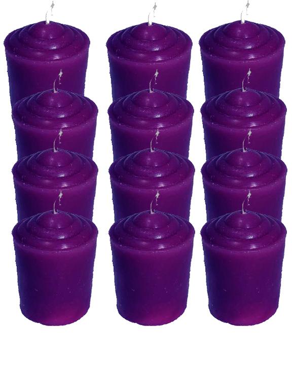 Votive-Light-Candle-Dozen-Purple-at-the-Lucky-Mojo-Curio-Company-in-Forestville-California