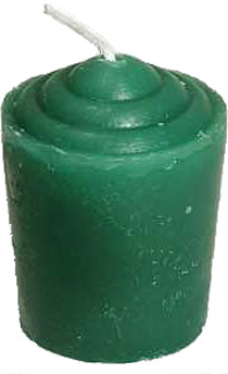 Votive-Light-Candle-Green-at-the-Lucky-Mojo-Curio-Company-in-Forestville-California
