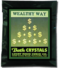 Lucky Mojo Curio Co.: Wealthy Way Bath Crystals
