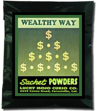 Lucky Mojo Curio Co.: Wealthy Way Sachet Powder