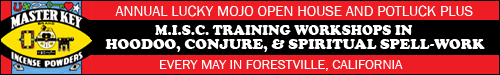 Lucky Mojo Hoodoo, Conjure, Training Workshops