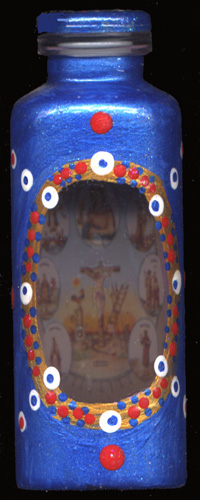 Empty-Catholic-Bottle-Spell-Seven-African-Powers-Lucky-Mojo-Curio-Company-in-Forestville-California