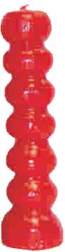 Lucky Mojo Black Seven Knob Figural Candle