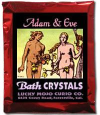 Lucky Mojo Curio Co.: Adam And Eve Bath Crystals