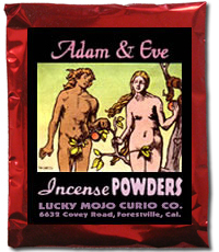 Lucky Mojo Curio Co.: Adam And Eve Incense Powders