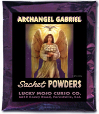 Lucky Mojo Curio Co.: Archangel Gabriel Sachet Powders