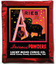 Lucky Mojo Curio Co.: Aries Incense Powder