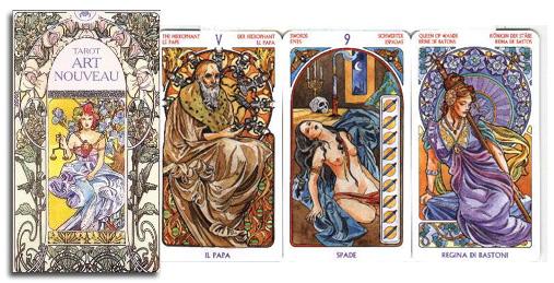 Art-Nouveau-Tarot-at-Lucky-Mojo-Curio-Company