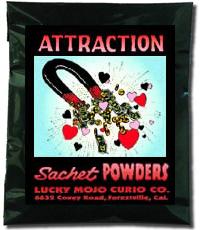 Lucky Mojo Curio Co.: Attraction Incense Powders