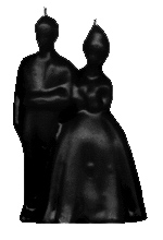 Bride-and-Groom-Figural-Candle-Black-at-the-Lucky-Mojo-Curio-Company-in-Forestville-California