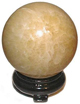 Calcite-Honey-Yellow-Sphere-Five-Inch-at-Lucky-Mojo-Curio-Company
