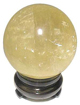Calcite-Yellow-Sphere-One-Inch-at-Lucky-Mojo-Curio-Company
