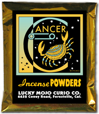 Lucky Mojo Curio Co.: Cancer Incense Powder