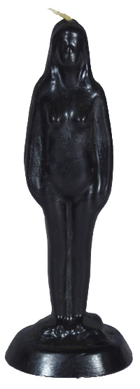 Female-Nude-Figure-Eve-Candle-Black-at-the-Lucky-Mojo-Curio-Company-in-Forestville-California