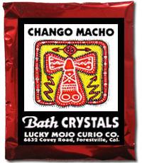 Lucky Mojo Curio Co.: Chango Macho Bath Crystals