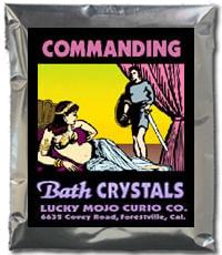 Lucky Mojo Curio Co.: Commanding Bath Crystals