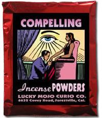 Lucky Mojo Curio Co.: Compelling Incense Powder