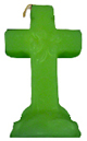Cross-4-Leaf-Clover-Candle-Green-Product-Detail-Button-at-the-Lucky-Mojo-Curio-Company-in-Forestville-California