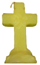 Cross-4-Leaf-Clover-Candle-Yellow-Product-Detail-Button-at-the-Lucky-Mojo-Curio-Company-in-Forestville-California