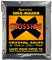 Order-Crossing-Magic-Ritual-Hoodoo-Rootwork-Conjure-Bath Crystals-From-Lucky-Mojo-Curio-Company