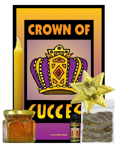 Lucky-Mojo-Curio-Co.-Crown of Success-Magic-Ritual-Hoodoo-Rootwork-Conjure-Spell-Kit