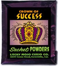 Lucky Mojo Curio Co.: Crown Of Success Sachet Powder