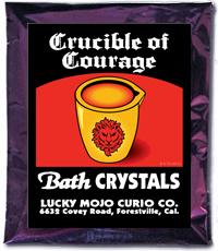Lucky Mojo Curio Co.: Crucible Of Courage Bath Crystals