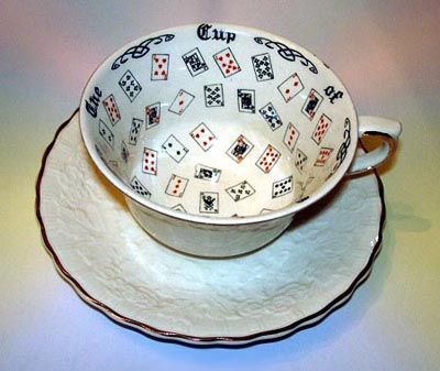 Alfred-Meakin-Cup-of-Knowledge-Embossed-Undecorated-Saucer-from-Lucky-Mojo-Curio-Company