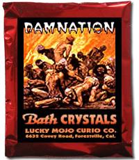 Lucky Mojo Curio Co.: Damnation Bath Crystals