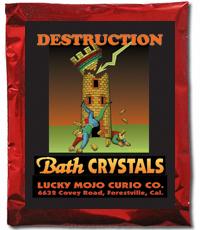 Lucky Mojo Curio Co.: Destruction Bath Crystals