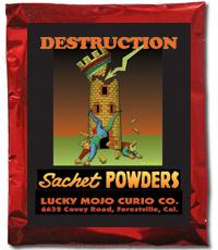 Lucky Mojo Curio Co.: Destruction Sachet Powder